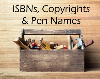 isbn-copyright-penname